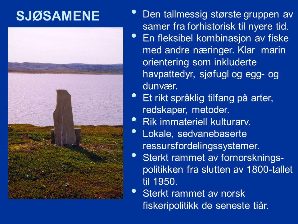 Den tallmessig største gruppen av samer fra forhistorisk til nyere tid.