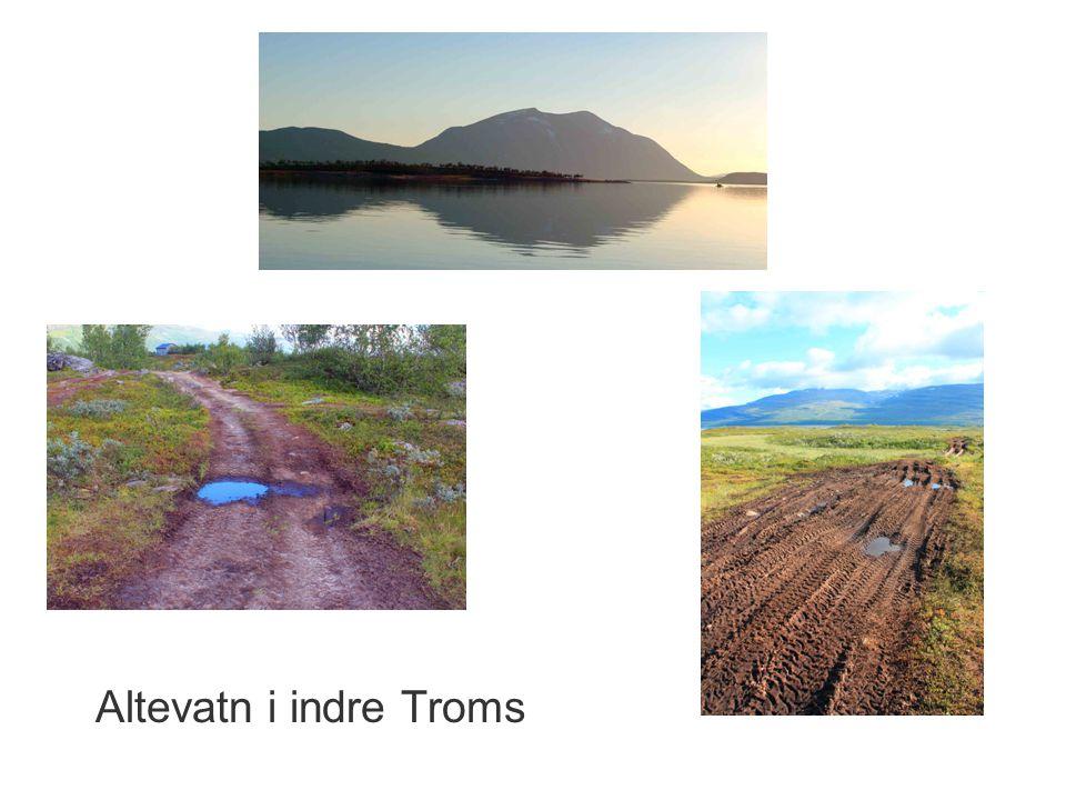 Altevatn i indre Troms