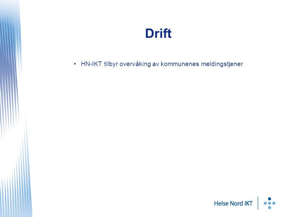 Drift HN-IKT tilbyr overvåking av kommunenes meldingstjener