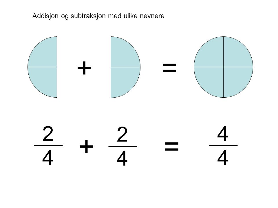 2 4 2 4 + + = = 4 4