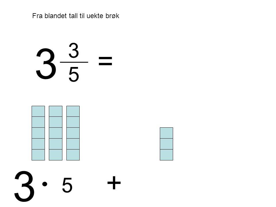 3 5 = 3 3 5 +