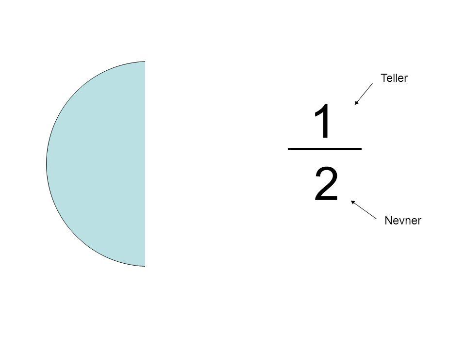 1 2 Teller Nevner