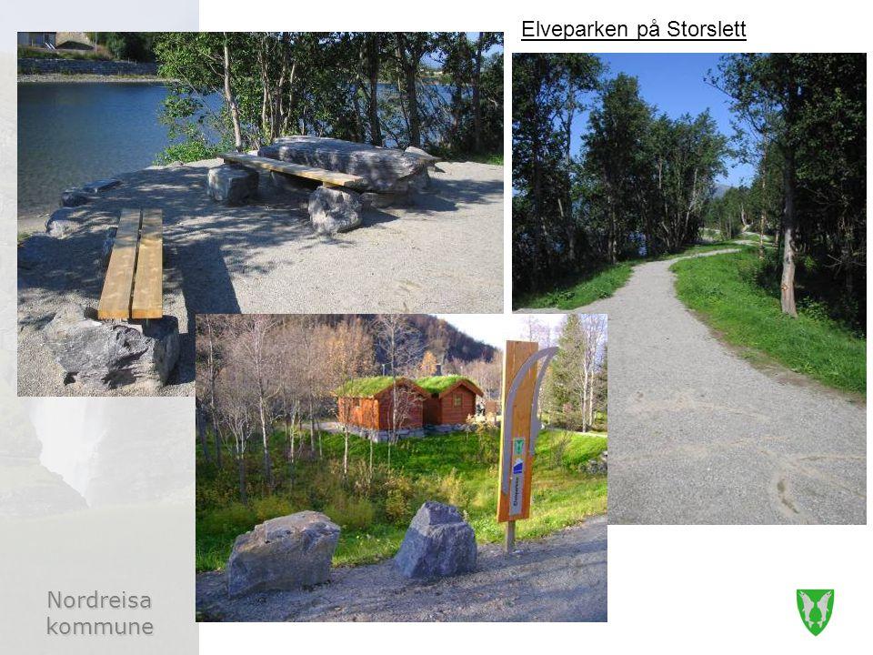 Nordreisa kommune Elveparken på Storslett