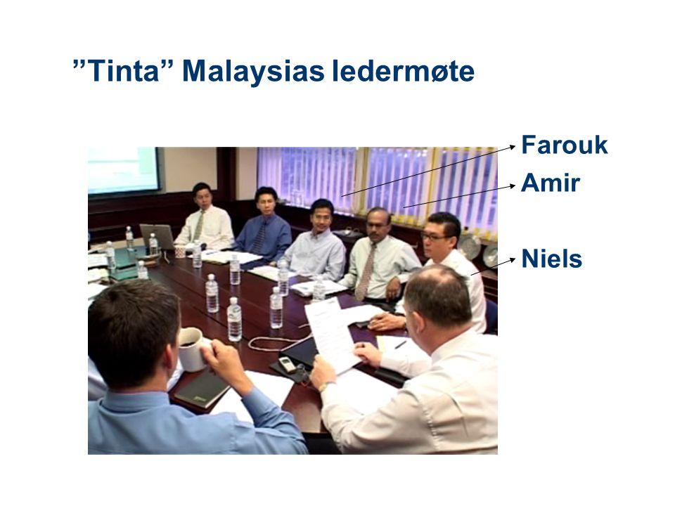 Tinta Malaysias ledermøte Farouk Amir Niels