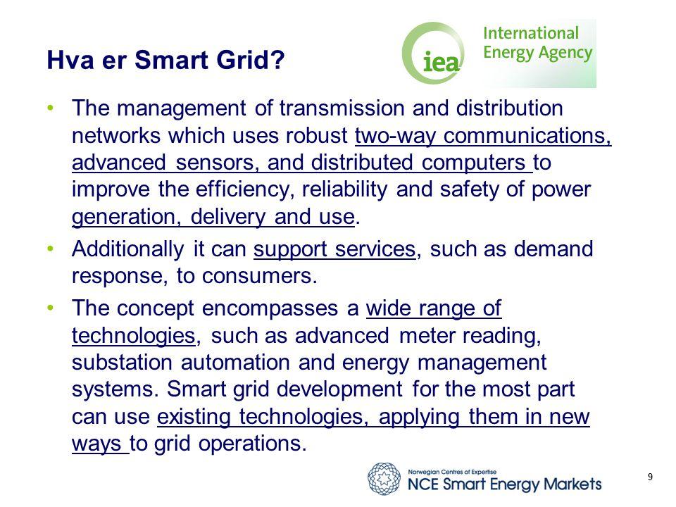 Hva er Smart Grid.