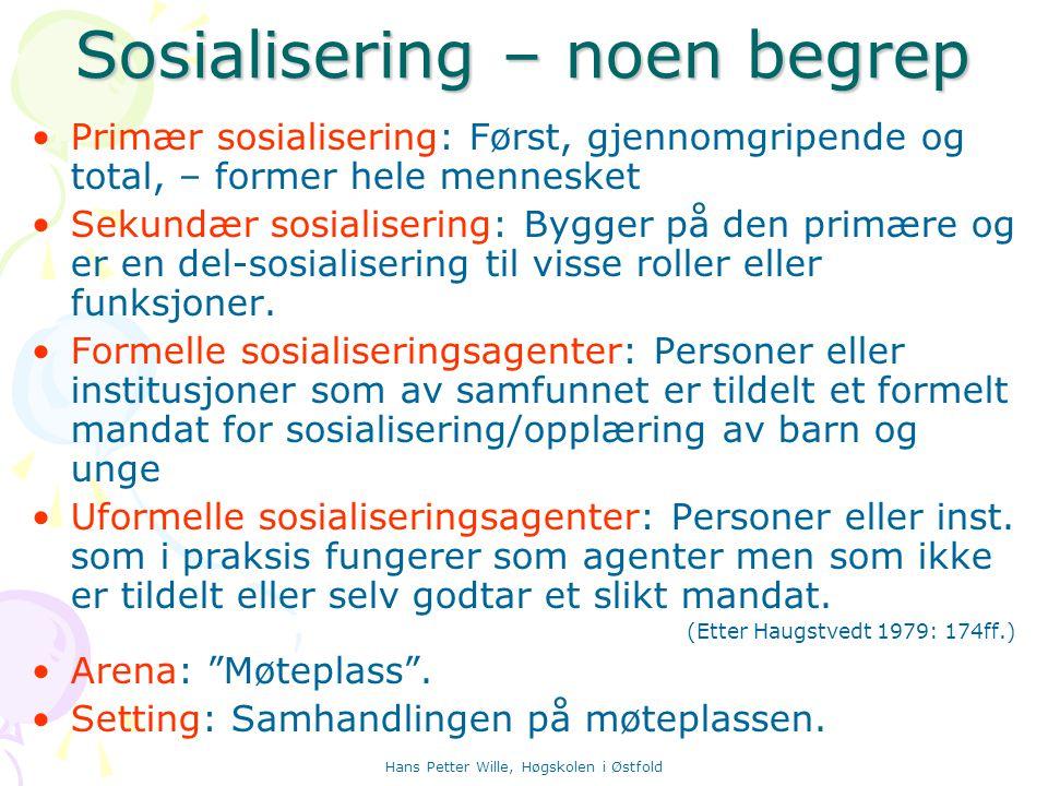 Hans Petter Wille, Høgskolen i Østfold Bronfenbrenner: Viktige relasjonsdimensjoner Bronfenbrenner: Viktige relasjonsdimensjoner Grad av gjensidighet Maktbalansen Følelser