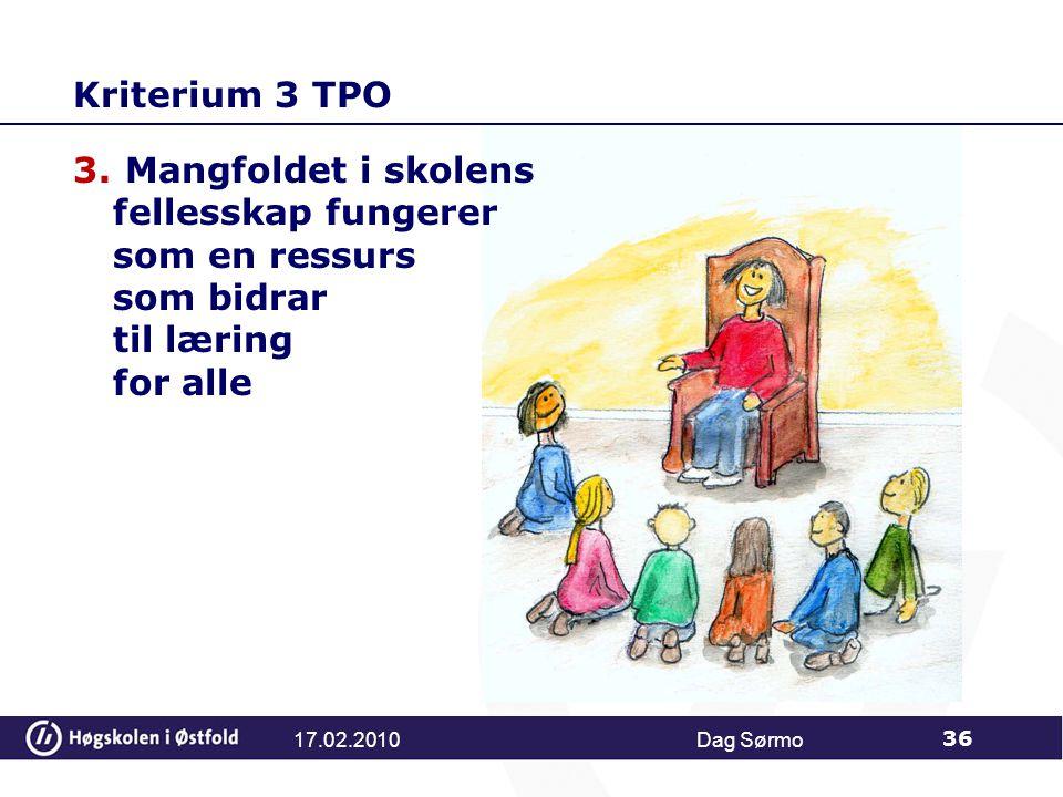 Kriterium 3 TPO 3.