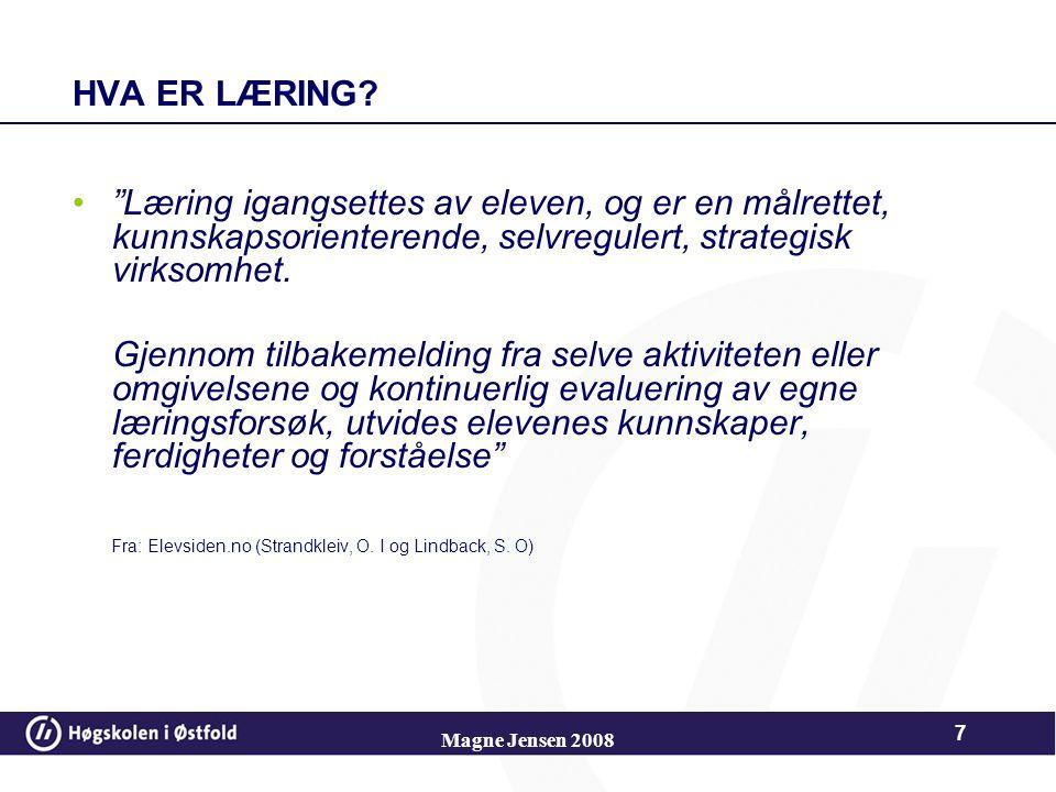Magne Jensen 2008 47 Kaste – det som kastes være en rangle, ball eller lue.