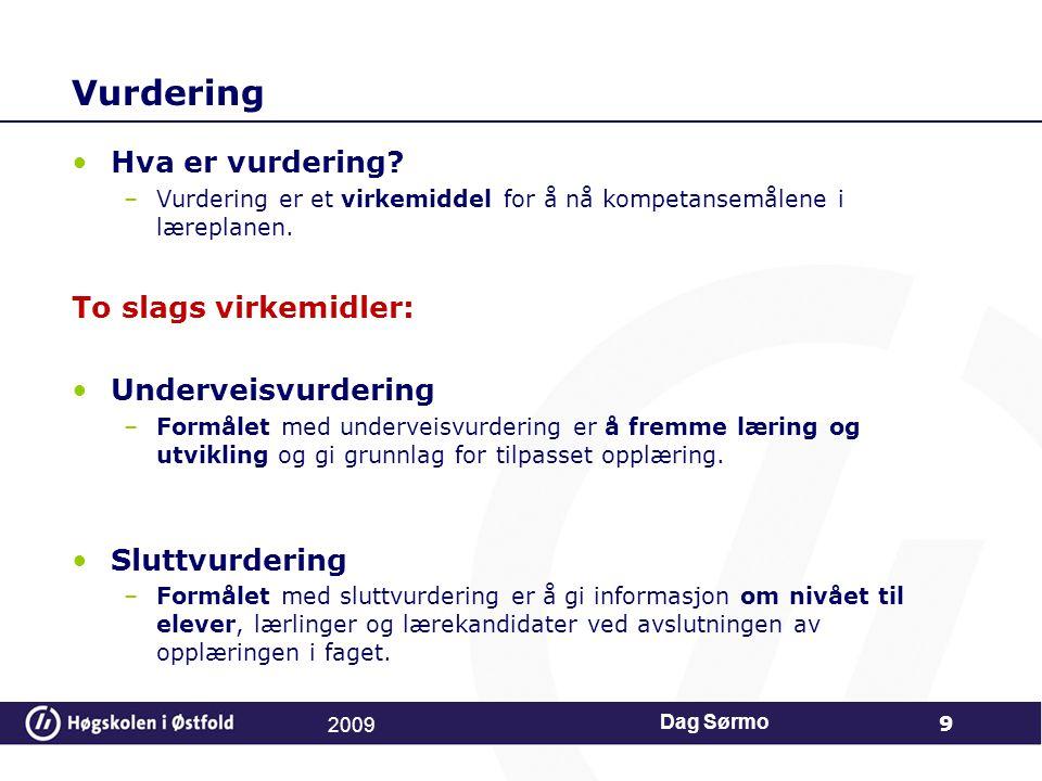 Hvorfor.Hva sier norske elever om vurdering og veiledningen de får.
