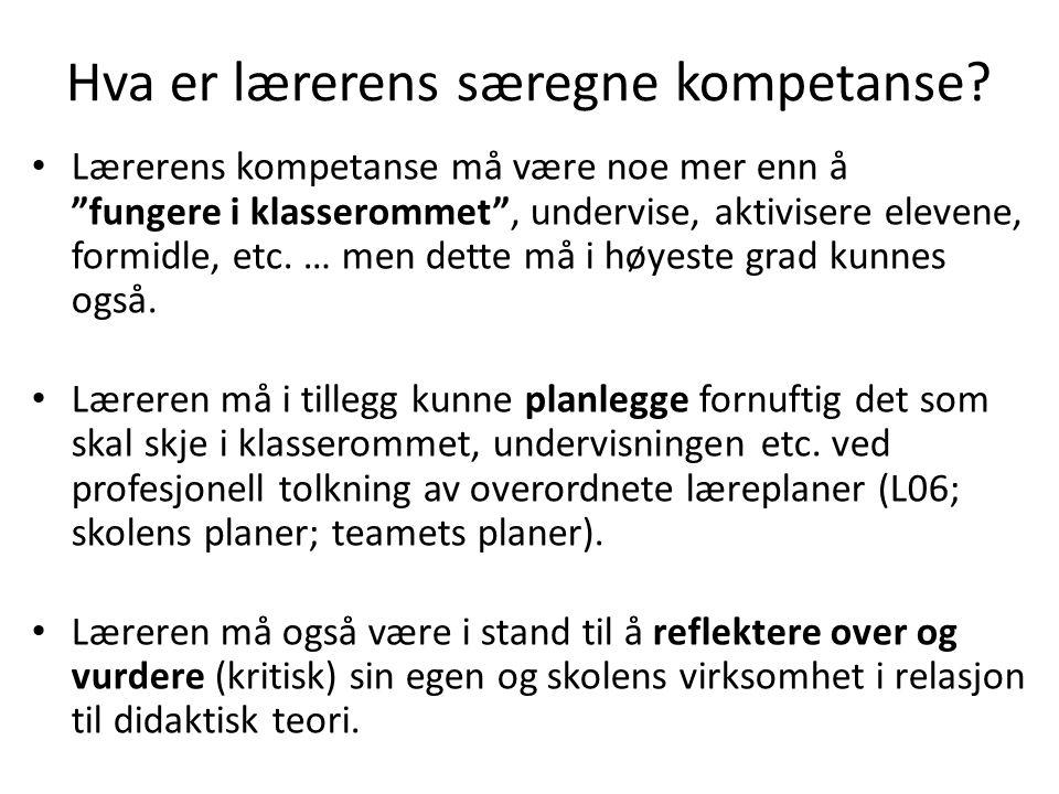 Planhysteriet kjenner vi allerede i norsk skole, uten at skolen er blitt bedre av det.