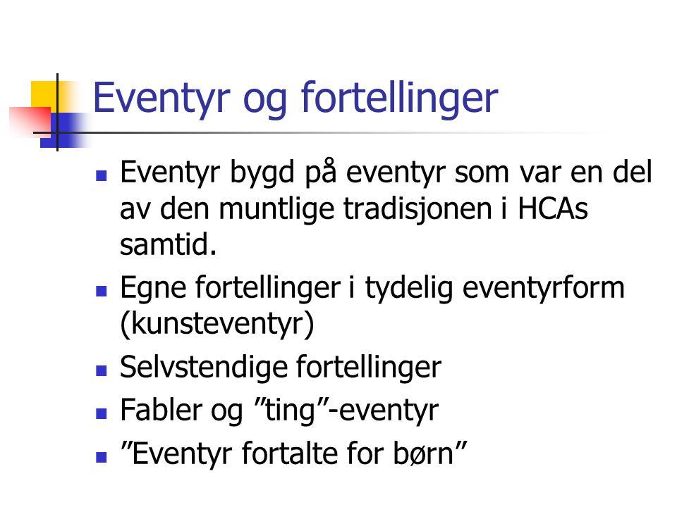 Folkeeventyr vs.