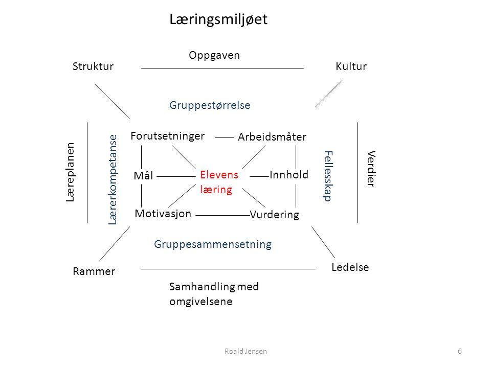 Roald Jensen37 Hva er læring.