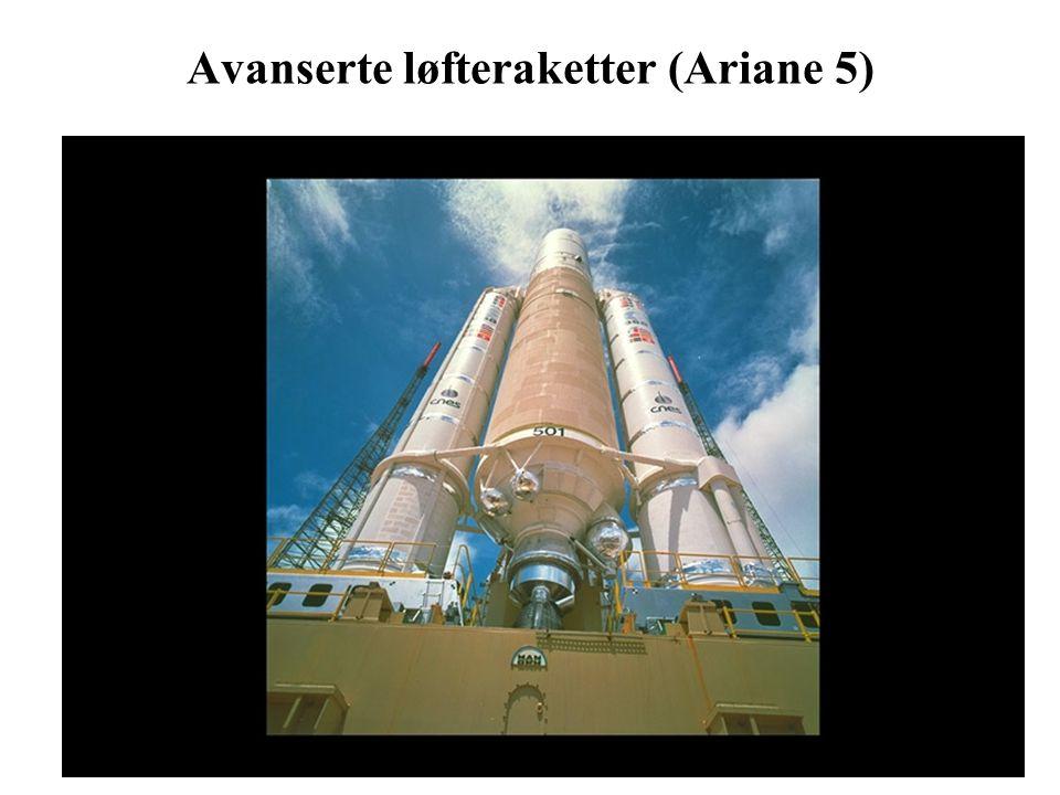 3 Avanserte løfteraketter (Ariane 5)