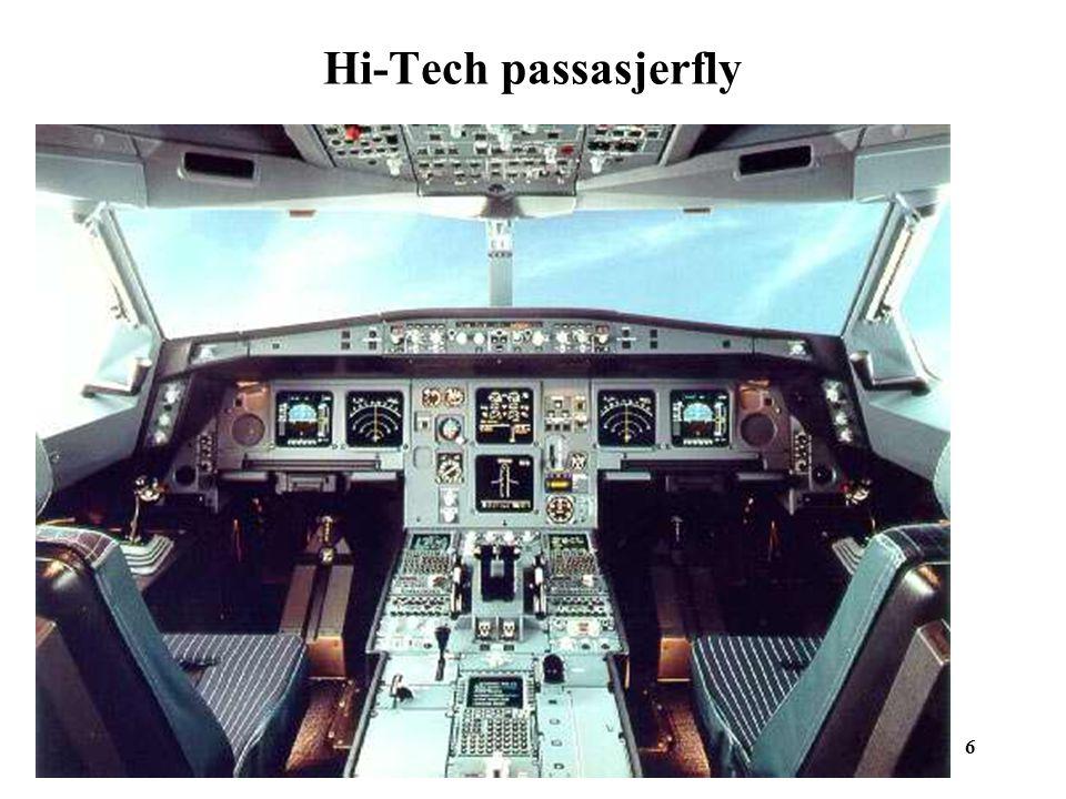 6 Hi-Tech passasjerfly