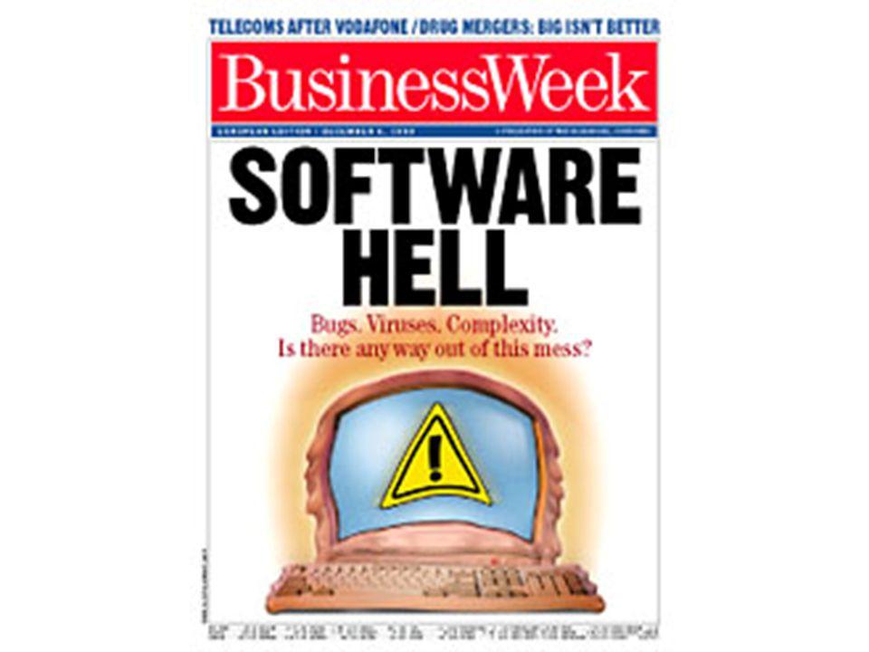 20 Et annet eksempel: Netcom Netcom's SMS tjeneste var ute av drift en kort periode sommeren 2005.