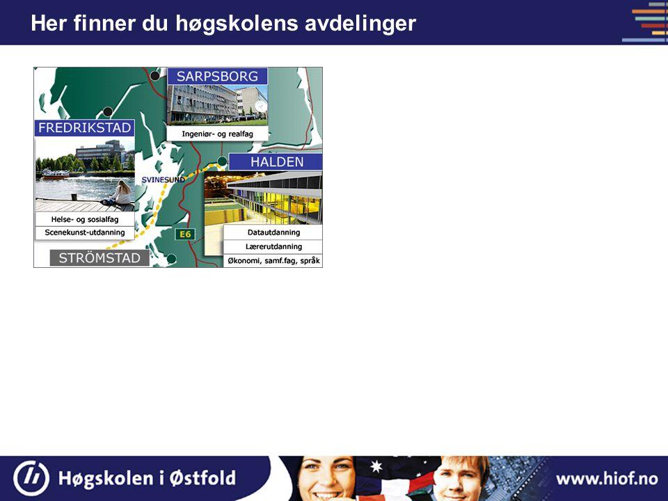 Nytt høgskolesenter i Halden fra 2005-2006