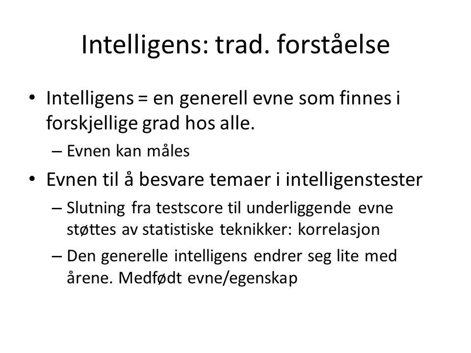 Intelligens: trad.