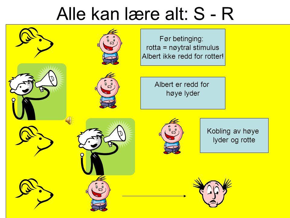 Alle kan lære alt: flaskepåfylling K= noe som er der ute L= K bringes inn i hodet på eleven K= oppfylling av noe i hodet Flaskepåfylling