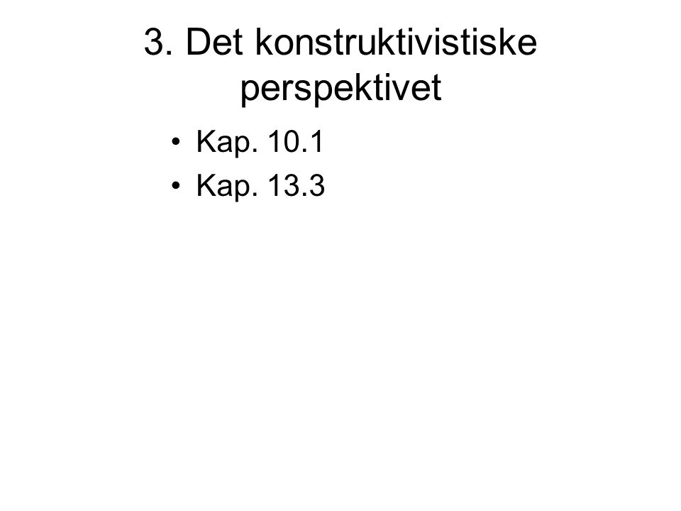Oppgave Tilrettelegg en mattetime/norsktime med utgangspunkt i kognitiv læringsteori!