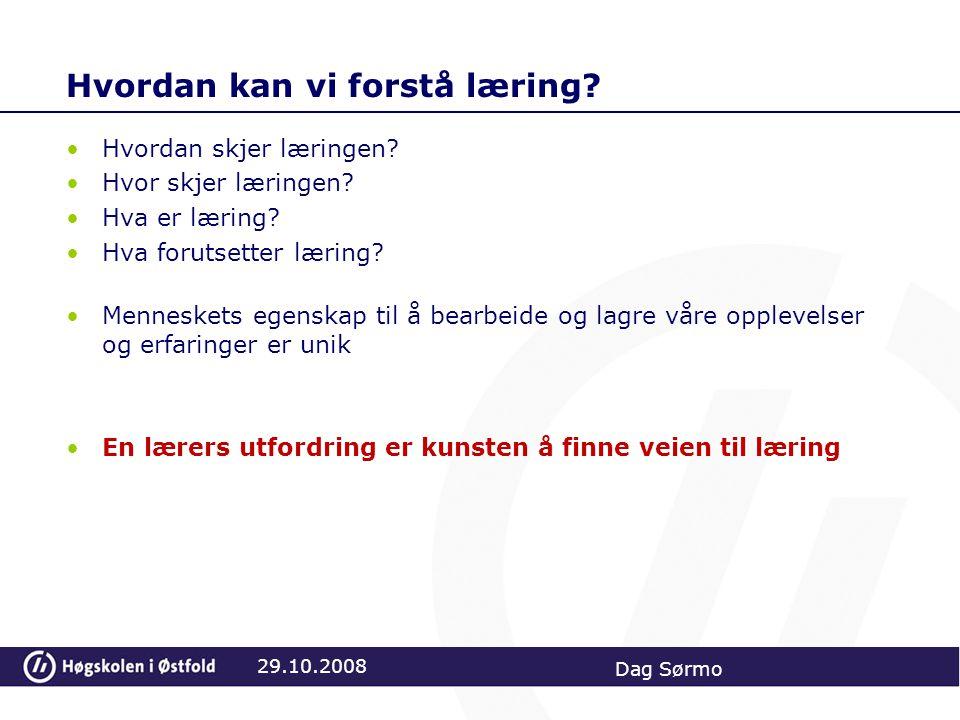 29.10.2008 Dag Sørmo