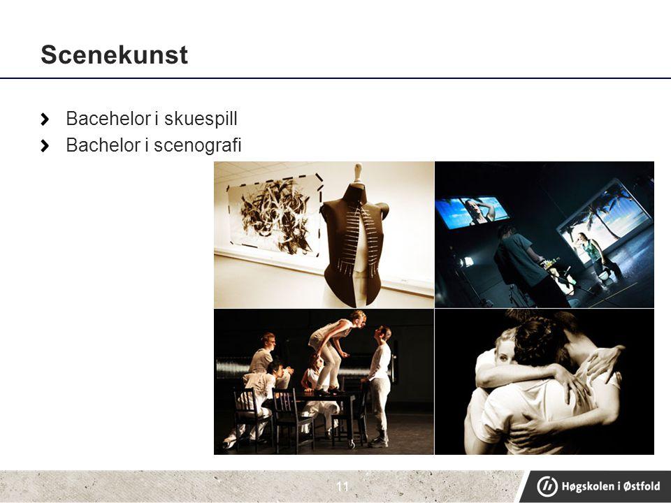 Scenekunst Bacehelor i skuespill Bachelor i scenografi 11