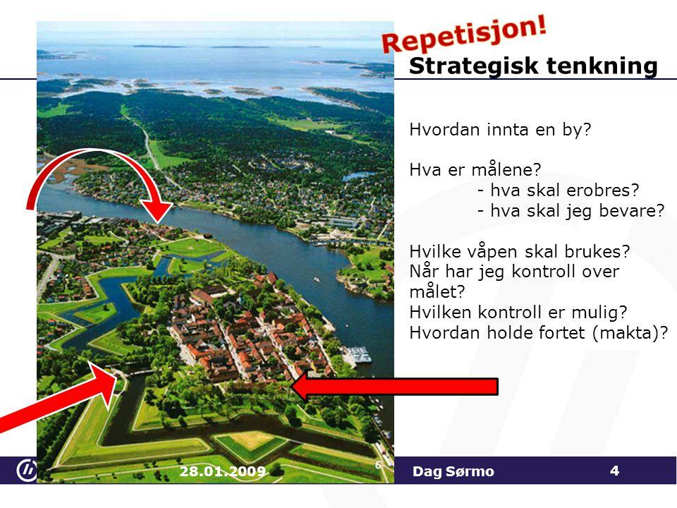 Forventninger og forutsetninger 28.01.2009 Dag Sørmo 25 Er det sammenheng mellom forventninger og forutsetninger?