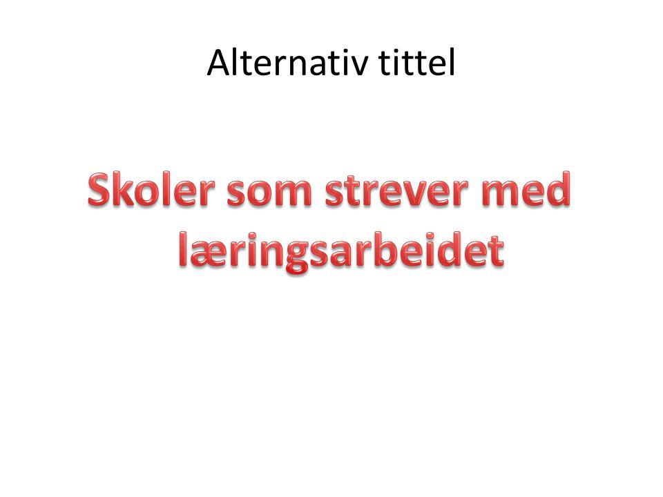 Alternativ tittel