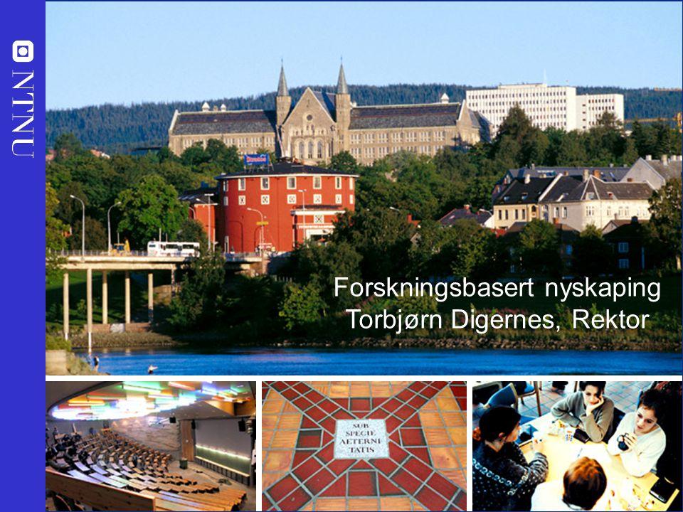NHD - 21.06.07 - Torbjørn Digernes, Rektor Midt-Norge var norgesmester i nyskaping i 2006 iht en uavhengig vurdering gjort av Innovasjon Norge etter objektive kriterier fra FORNY-programmet i Norges forskningsråd