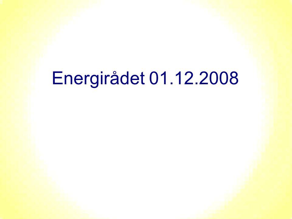 Energirådet 01.12.2008