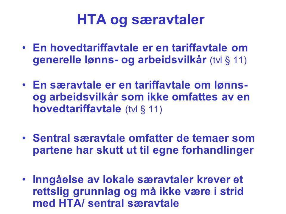 Hvilke arbeidstakere i staten omfattes av HTA.