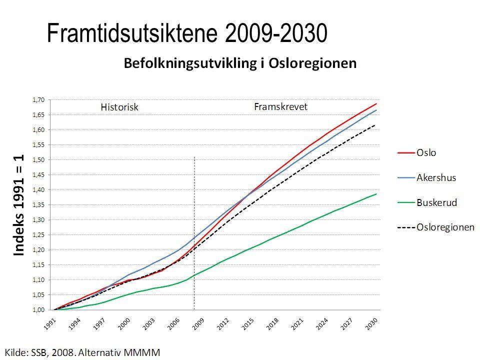 Framtidsutsiktene 2009-2030