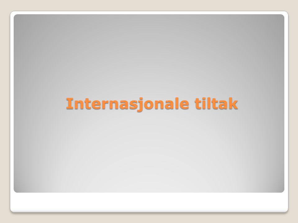 Internasjonale tiltak