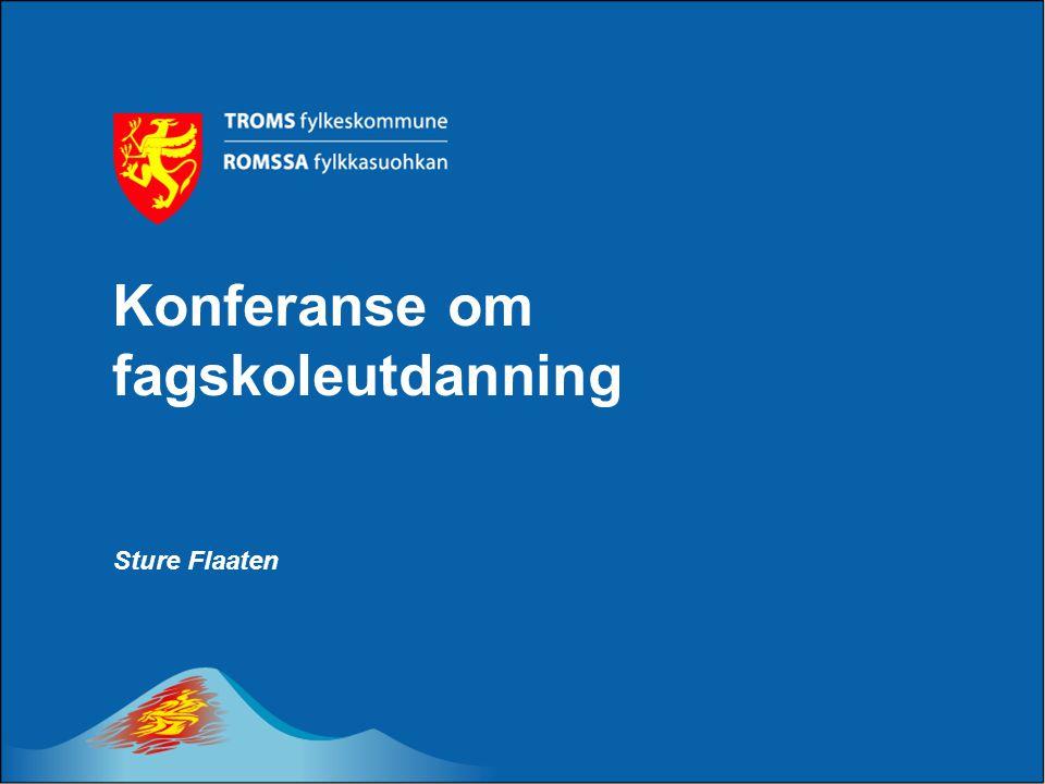Konferanse om fagskoleutdanning Sture Flaaten