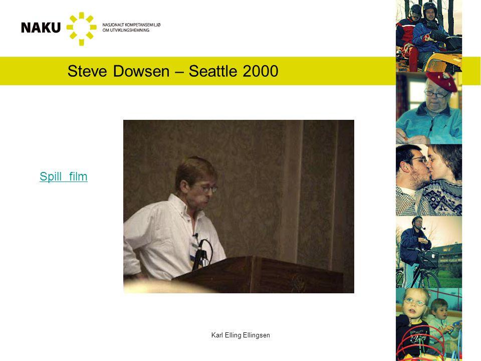 Karl Elling Ellingsen Steve Dowsen – Seattle 2000 Spill film