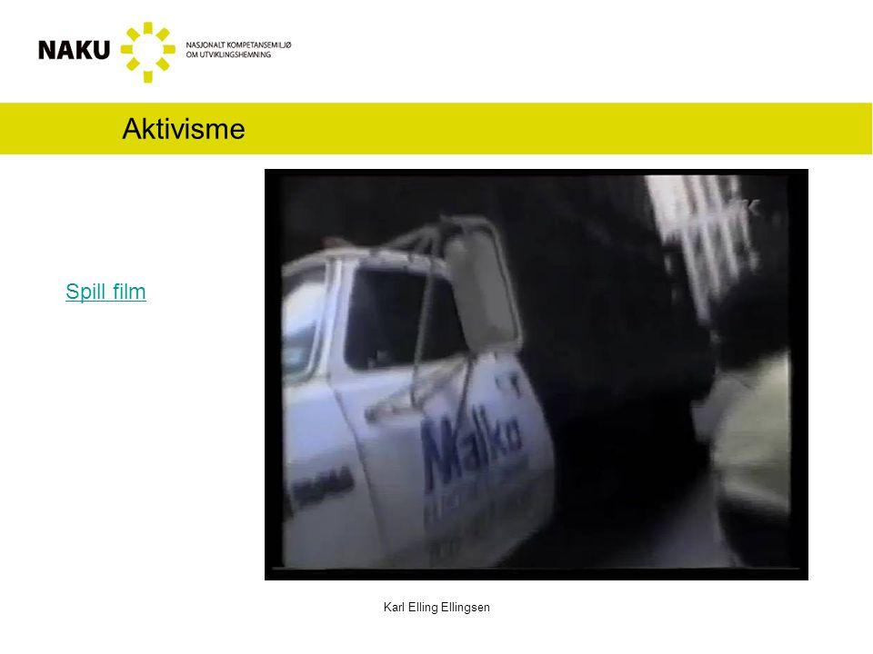 Aktivisme Karl Elling Ellingsen Spill film