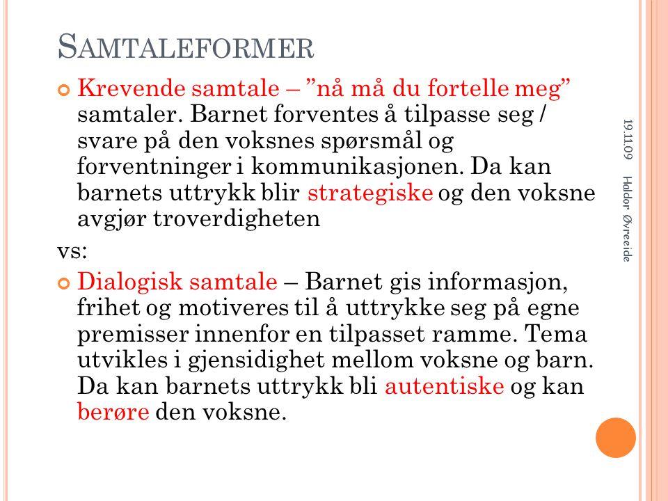 KOMMUNIKASJON OG OMSORG HENGER SAMMEN.