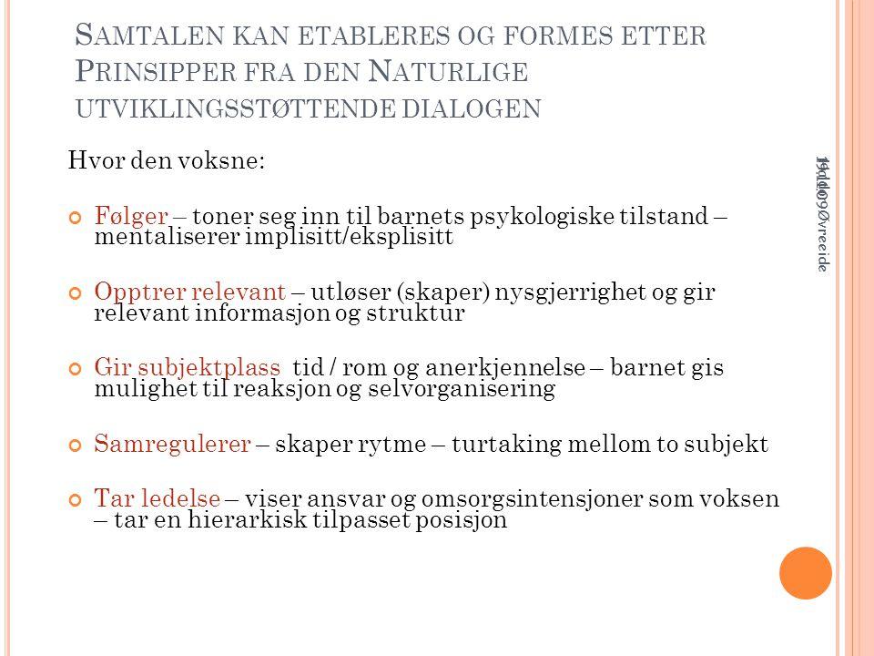 T IL Å LESE Barne- og likestillingsdepartementet (2009).