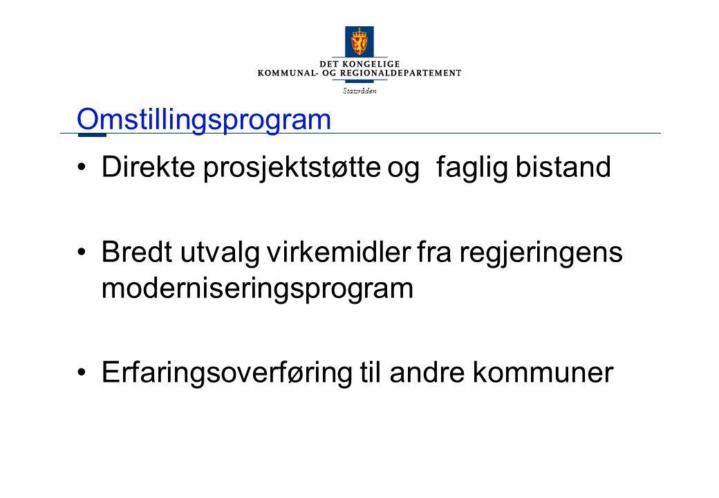 Statsråden Interkommunalt samarbeid Et fullgodt alternativ til kommunesammenslutning.