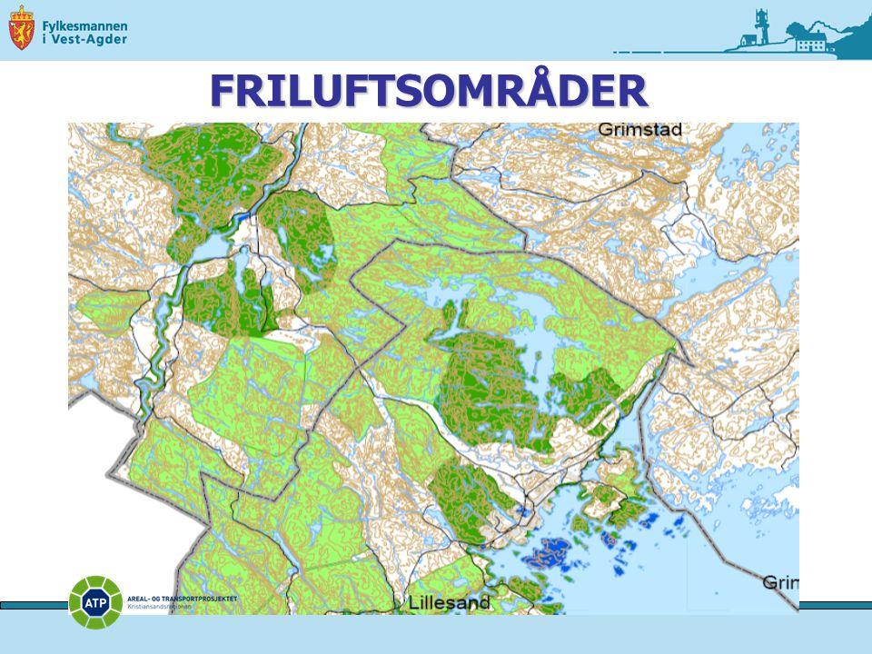 FRILUFTSOMRÅDER
