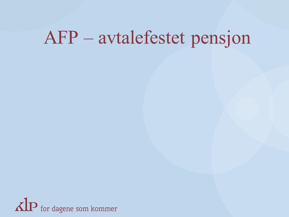 Ny regulering av alderspensjon Alderspensjonen oppreguleres årlig i samme takt som bl.a. uførepensjon og aktive rettigheter (G-reguleres) NyttI dag Al