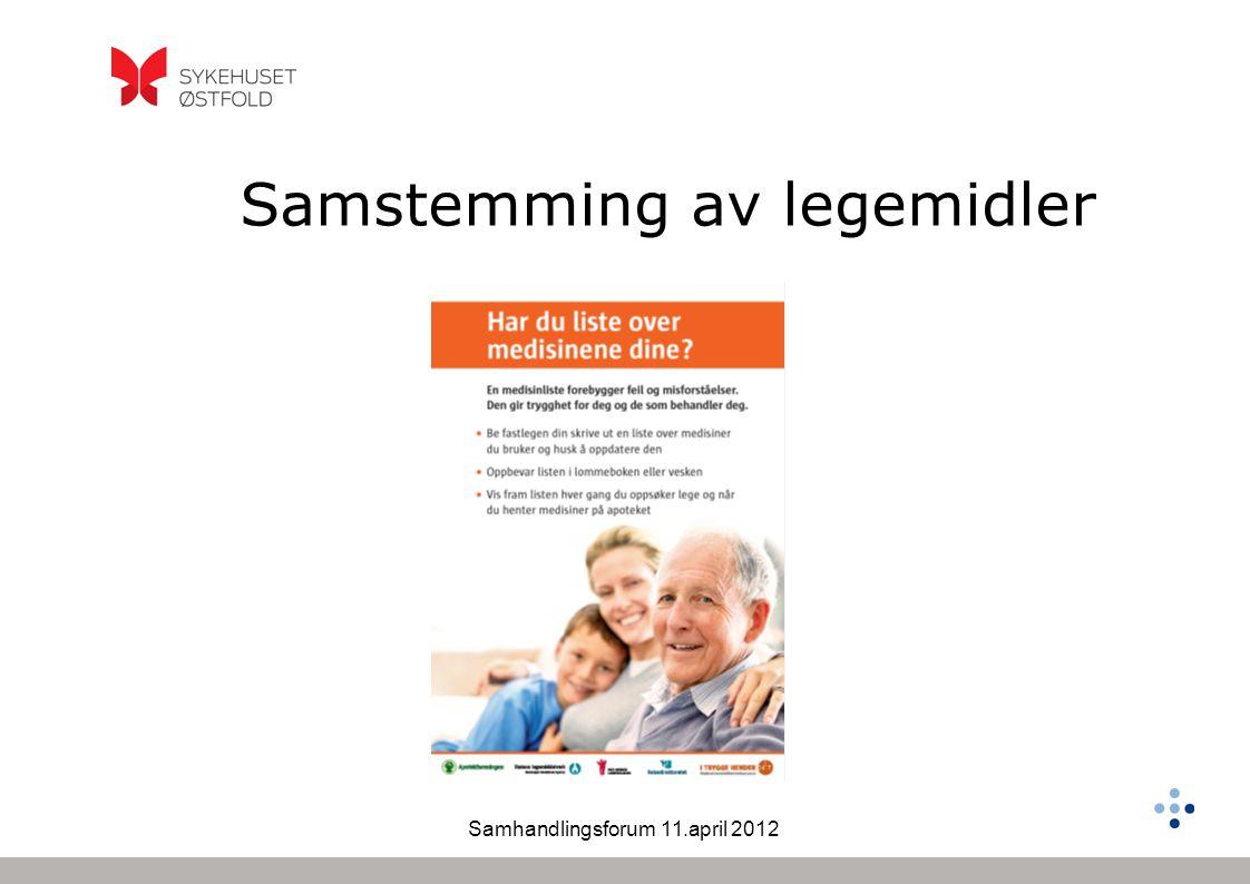 Samhandlingsforum 11.april 2012 65% 32% 80-100% = ADMS Vårmøtet Stetoskopet