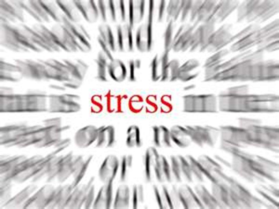 9 Stress Stress regnes som en normal overlevelsesreaksjon, i korte perioder Moderat stress skjerper organismen Fight-Flight-Freeze Stress, latinsk stringere : stramme inn, snøre til
