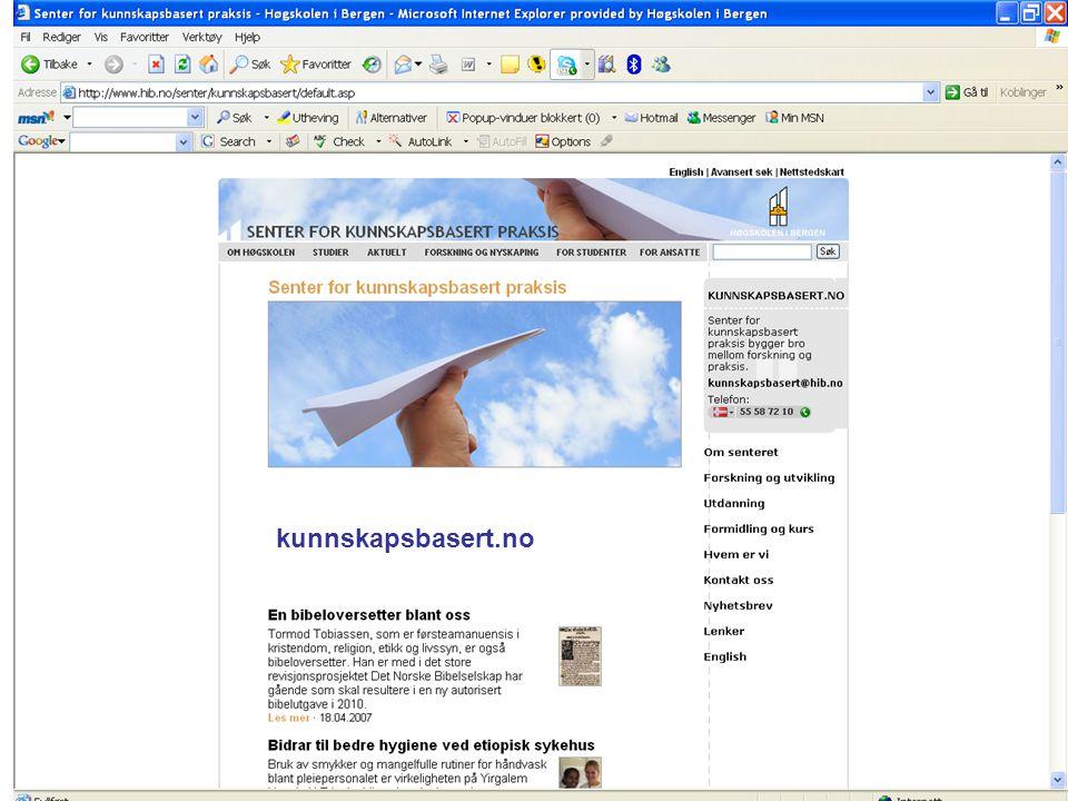 MWN 2007 kunnskapsbasert.no