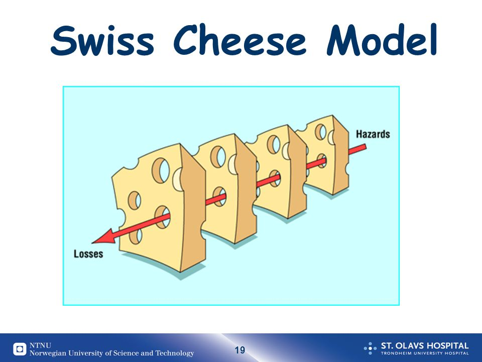 19 Swiss Cheese Model