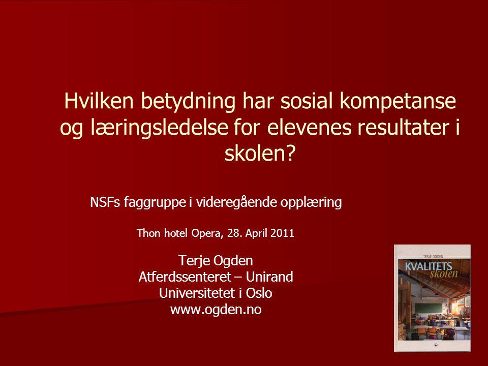 7/9/2014 © The Norwegian Center for Child Behavioral DevelopmentSide 42 Takk, det var det hele!