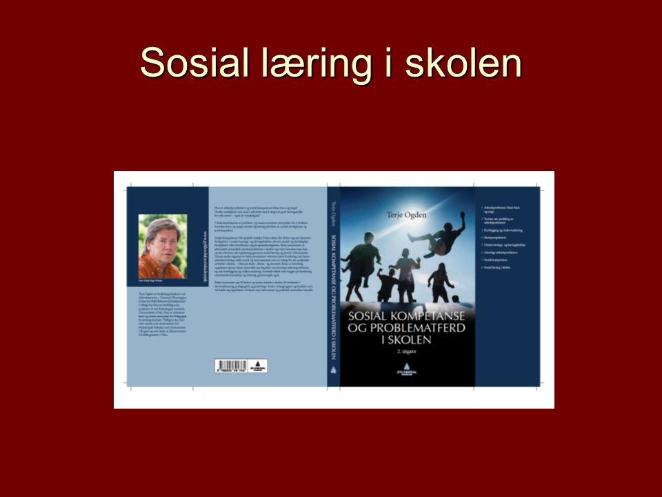 Sosial læring i skolen