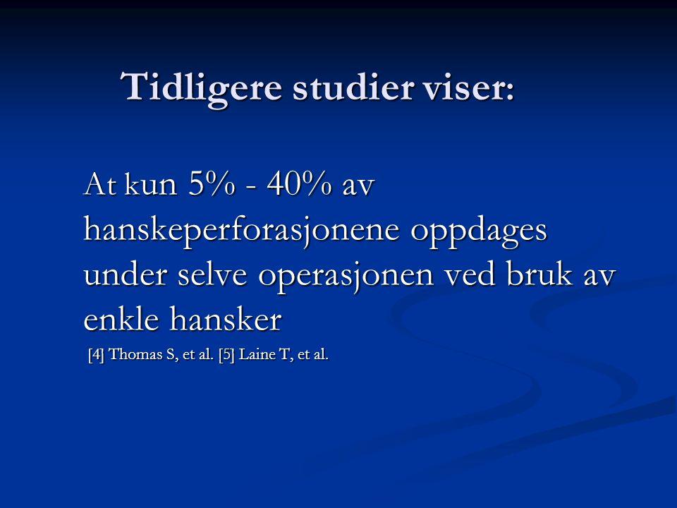 Materiale og metode: 655 kirurgiske inngrep ved Molde sjukehus.