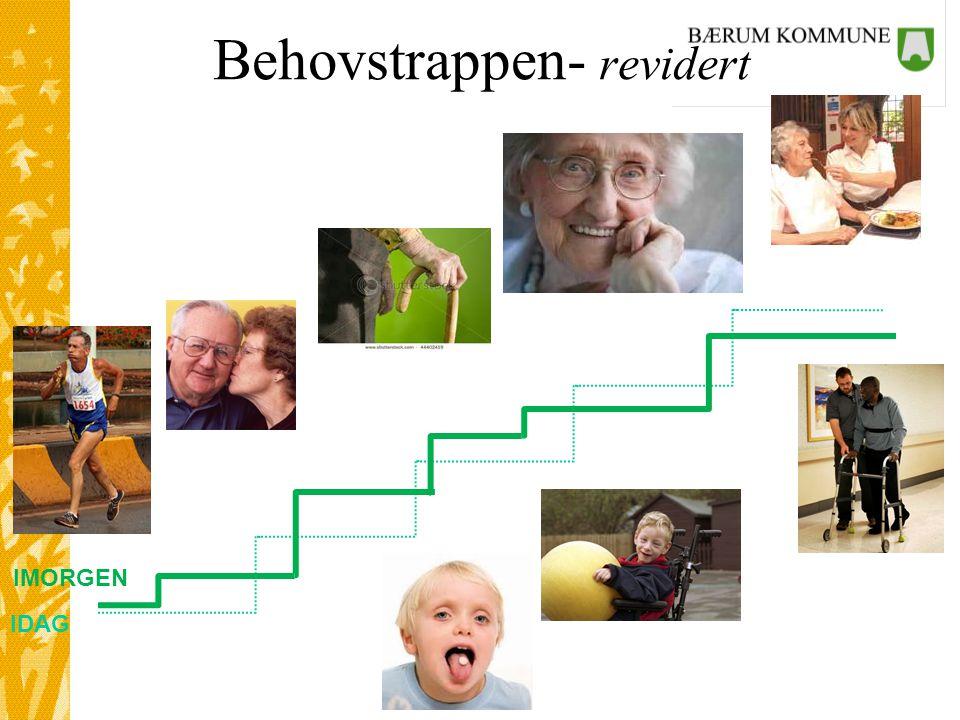 PLO Helseinformatikk Behovstrappen- revidert IDAG IMORGEN