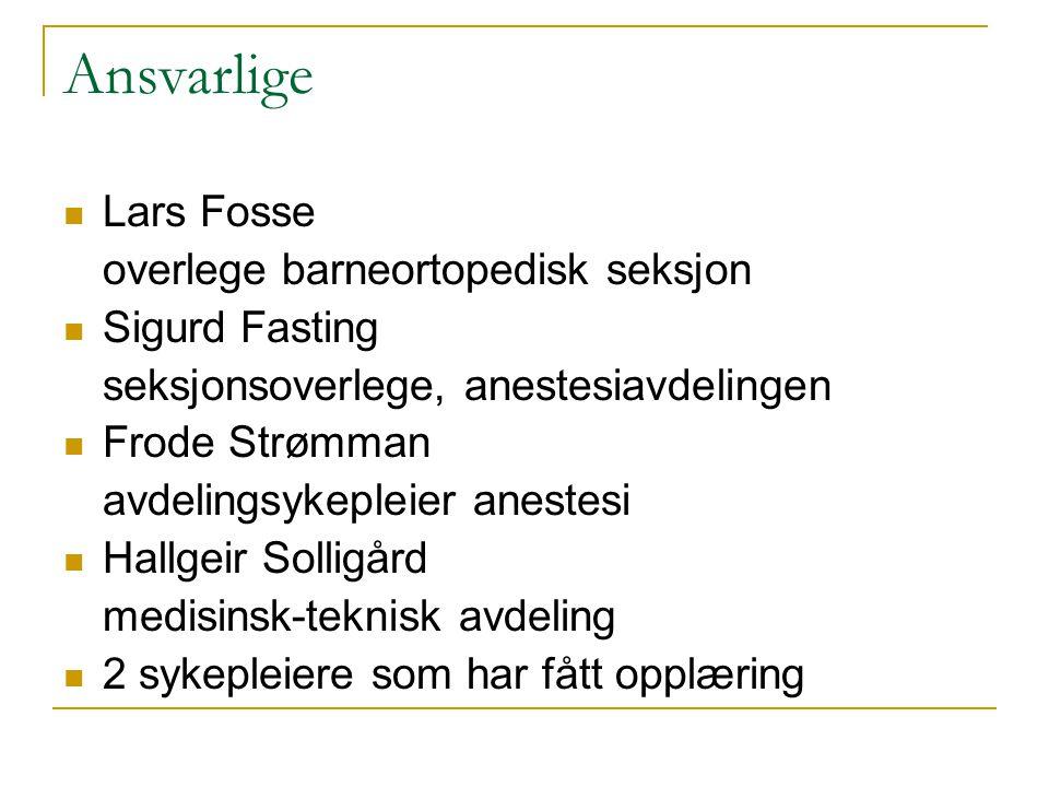 Oppstart Høst 2007 Vi startet opp uten ekstra ressurser i form av stillinger 1.