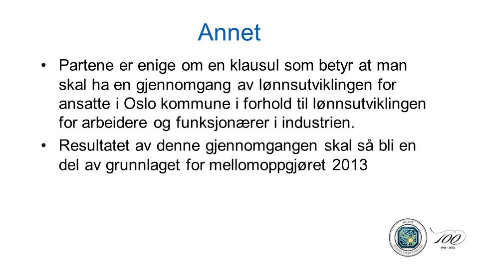 Partsammensatt utvalg som skal se på kompetanse og lønnsutvikling frist 31.12.2013.